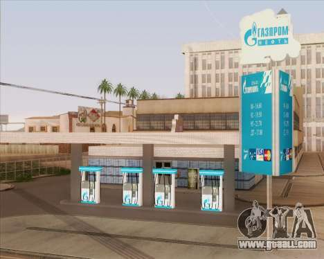 AZS Gazprom Neft for GTA San Andreas