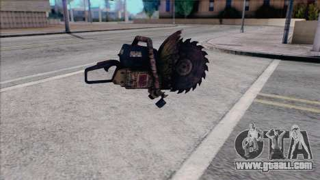 Chainsaw from Silent Hill Home Coming for GTA San Andreas second screenshot