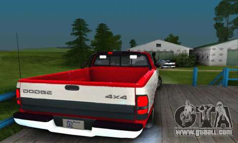 Dodge Ram 2500 for GTA San Andreas left view