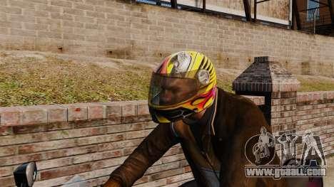 A collection of helmets Arai v1 for GTA 4