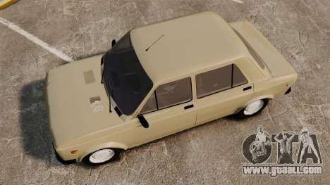 Zastava Yugo 128 for GTA 4 right view