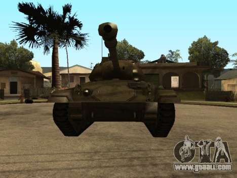 M24-Chaffee for GTA San Andreas left view
