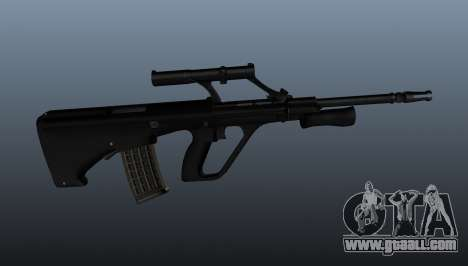 Steyr AUG automatic rifle for GTA 4 third screenshot