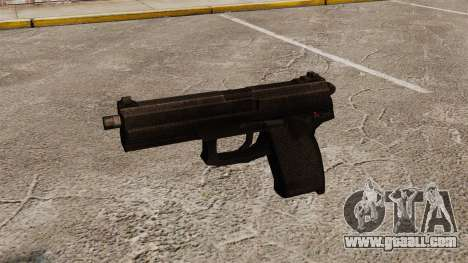 H&K MK23 Socom semi-automatic pistol for GTA 4 third screenshot