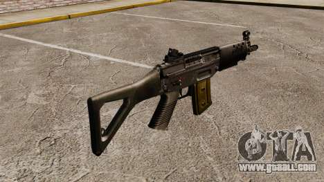 Assault rifle SIG SG 552 for GTA 4 second screenshot