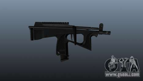 Submachine gun pp-2000 v2 for GTA 4 third screenshot