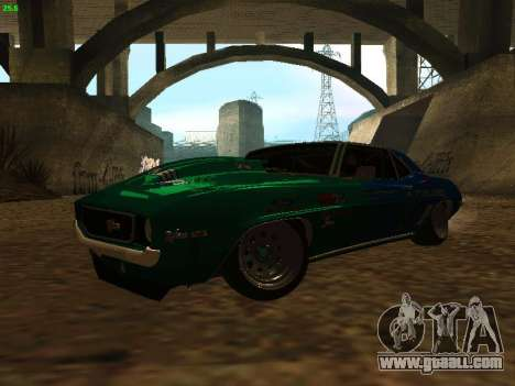 Chevrolet Camaro z28 Falken edition for GTA San Andreas left view