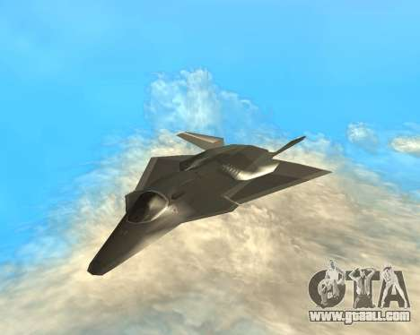 FA-37 Talon for GTA San Andreas back view