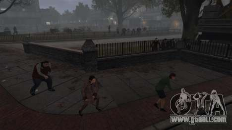 New Zombie-script for GTA 4 third screenshot
