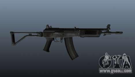 An Israeli Galil assault rifle for GTA 4 third screenshot