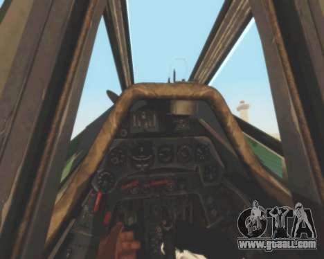Focke-Wulf FW-190 D12 for GTA San Andreas side view