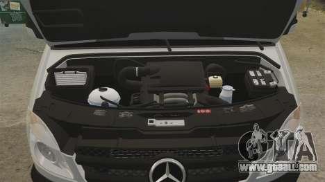 Mercedes-Benz Sprinter 2500 Delivery Van 2011 for GTA 4 inner view