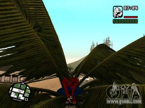 Crouch as the amazing Spider-man for GTA San Andreas forth screenshot