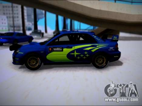 Subaru Impreza WRX STI WRC for GTA San Andreas left view