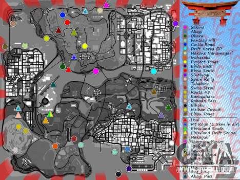 Mappack v1.3 by Naka for GTA San Andreas fifth screenshot