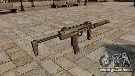 HK MP7 submachine gun for GTA 4 second screenshot