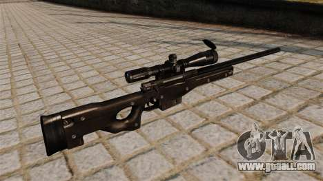 AI Arctic Warfare sniper rifle Magnum for GTA 4 second screenshot