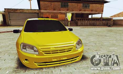 Lada Granta Hatchback for GTA San Andreas left view