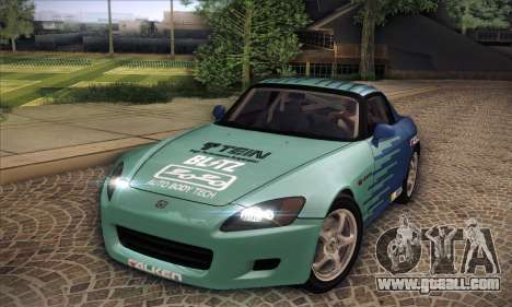 Honda S2000 for GTA San Andreas upper view