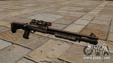 Benelli semi-automatic shotgun M4 Super 90 for GTA 4