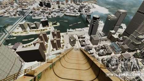 Mega jump for GTA 4 third screenshot