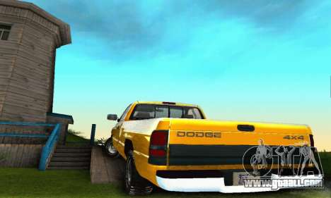 Dodge Ram 2500 for GTA San Andreas side view