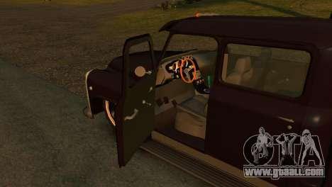 GAZ 53 for GTA 4 back left view