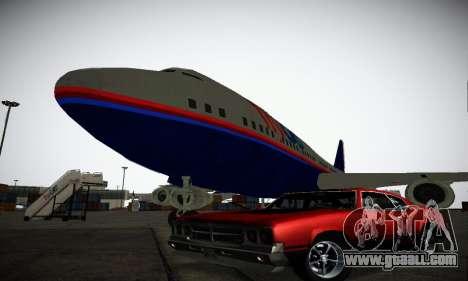 GTA IV Sabre Turbo for GTA San Andreas bottom view