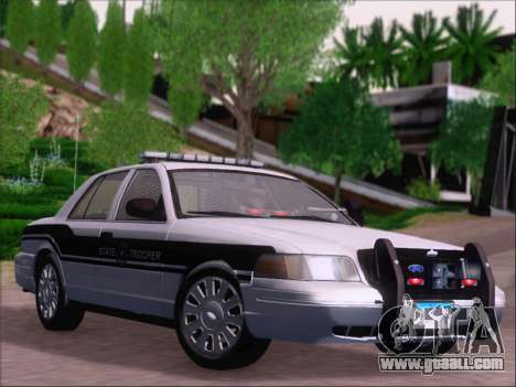 Ford Crown Victoria San Andreas State Trooper for GTA San Andreas side view