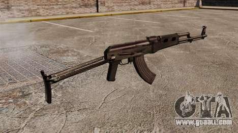 AK-47 v7 for GTA 4 second screenshot