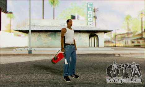 New fire extinguisher 2 for GTA San Andreas