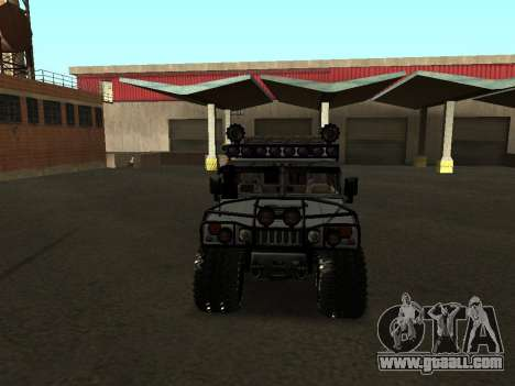 Hummer H1 Offroad for GTA San Andreas inner view