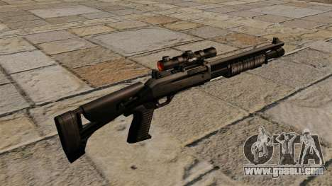 Benelli semi-automatic shotgun M4 Super 90 for GTA 4 second screenshot