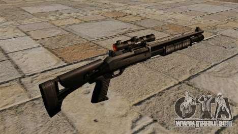 Benelli semi-automatic shotgun M4 Super 90 for GTA 4 second screenshot