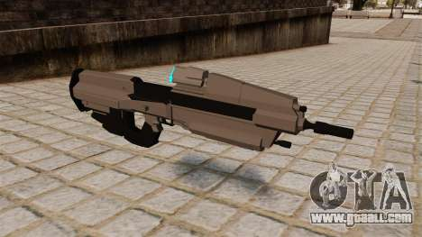The Halo assault rifle for GTA 4