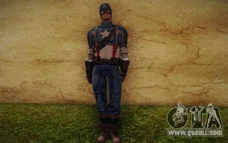 Captain America: First Avenger for GTA San Andreas
