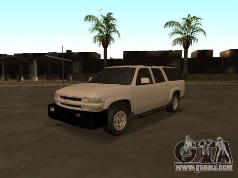 Chevrolet Suburban ATTF for GTA San Andreas