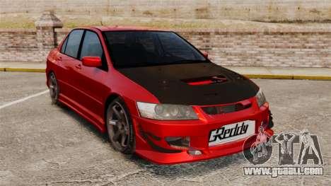 Mitsubitsi Lancer MR Evolution VIII 2004 Tuning for GTA 4