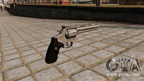 Revolver Colt Anaconda for GTA 4 second screenshot