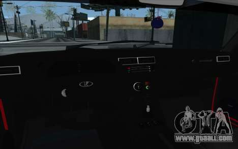 VAZ 2107 for GTA San Andreas interior