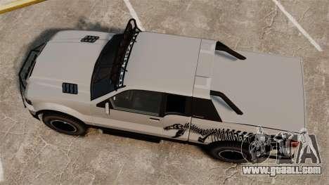 Vapid Contender T-Rex SDT v3.0 for GTA 4 right view