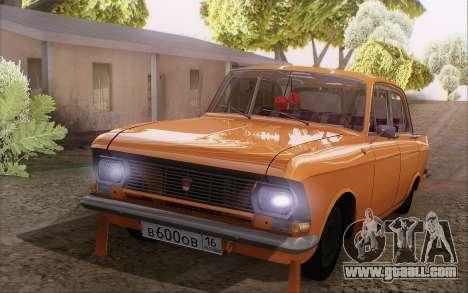 Moskvich 412 for GTA San Andreas