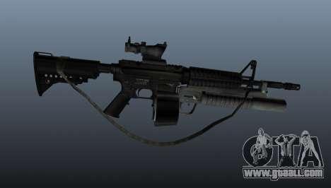 Automatic M4 C-Mag for GTA 4 third screenshot