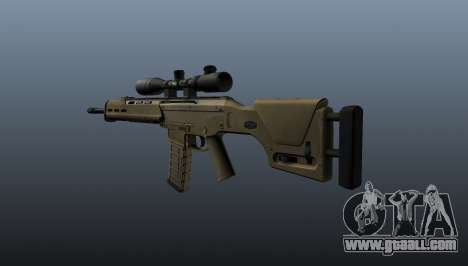 Automatic rifle Magpul Masada for GTA 4 second screenshot