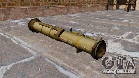 Anti-tank grenade launcher AT4 for GTA 4