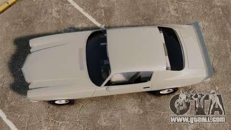 Chevrolet Camaro Z28 1970 v1.1 for GTA 4 right view