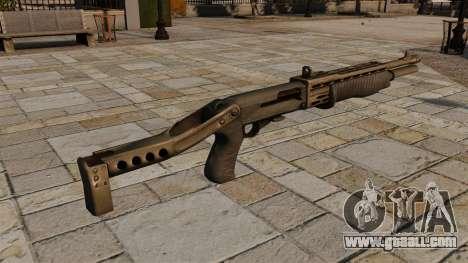 Franchi SPAS-12 shotgun for GTA 4 second screenshot