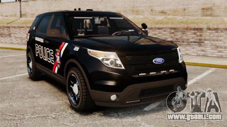 Ford Explorer 2013 Utility - Slicktop [ELS] for GTA 4