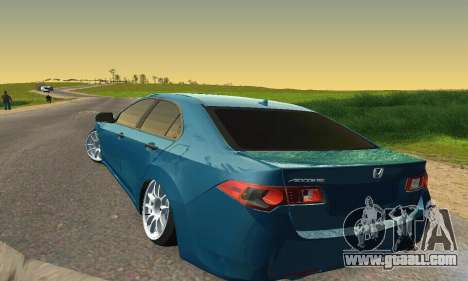 Honda Accord Tuning for GTA San Andreas inner view