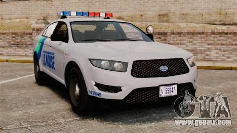 GTA V Vapid Police Stanier Interceptor [ELS] for GTA 4